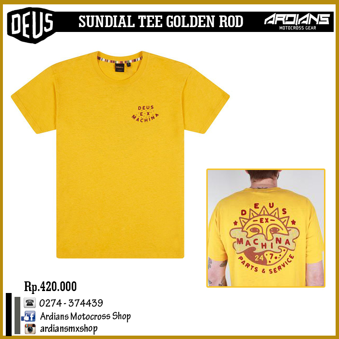 SUNDIAL TEE GOLDEN ROD