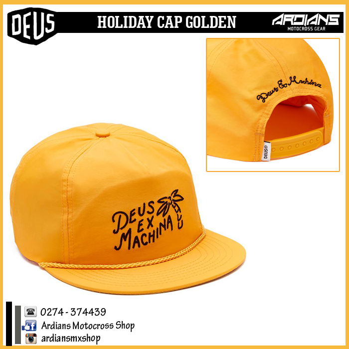 HOLIDAY CAP- GOLDEN