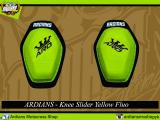 ARD Knee Slider New - Yellow Fluo