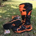 RMX Enduro Boot Black/Orange