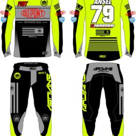 Sample Custom Desain Gear Set Ansel